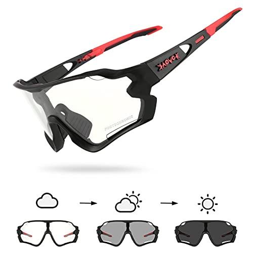 KAPVOE gafas de ciclismo fotocromáticas lentes de bicicleta mujer hombre mtb montaña deportes transparente