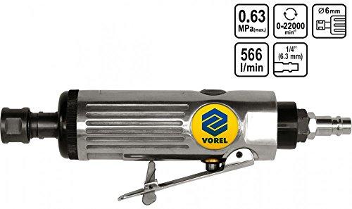 Druckluft Schleifer Einhand Stabschleifer Schnellschleifer 22000 U/min