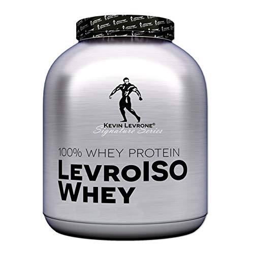 Kevin Levrone Iso Whey Package of 1 x 2000g – Isolate Whey Protein Powder – Amino Acid – BCAA – Muscle Growth – High Energy and Recovery – Low Fat (Vanilla)