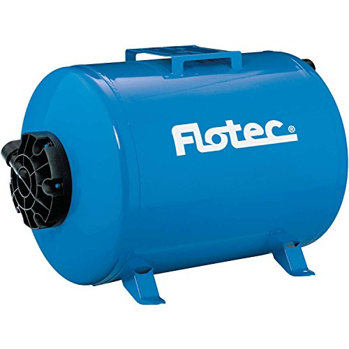 Flotec Horizontal Precharged Water System Tank - 19-Gallon Capacity, Equivalent to a 42-Gallon Capacity Tank, Model# FP7110TH