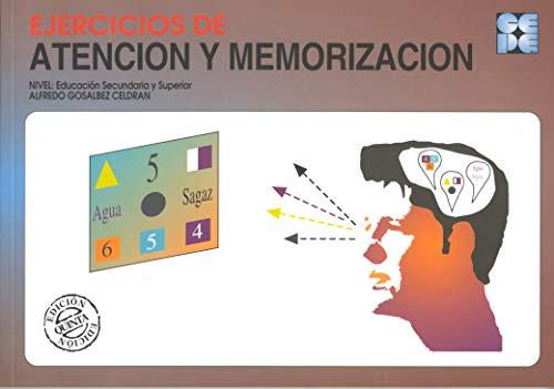 Ejercicios de Atención y Memorización: 40 (Cuadernos de recuperación)
