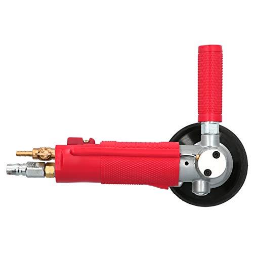 Molino de Agua Neumático, Pulidora por Inyección de 4 Pulgadas, Lijadora de Aire, con Tres Funciones de Ajuste de Velocidad y Buen Rendimiento de Pulido, para Pulir Mármol, Granito y Otras Piedras