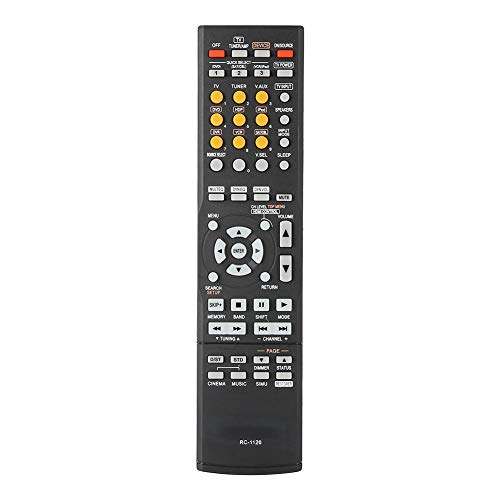 Tonysa Power Fernbedienung,Hochwertige Originalfernbedienung für Ihren Leistungsverstärker,Tragbarer Fernseher Kontroller für AVR-590 DHT590BA AVR-1610,Kompatibel mit ABS Material
