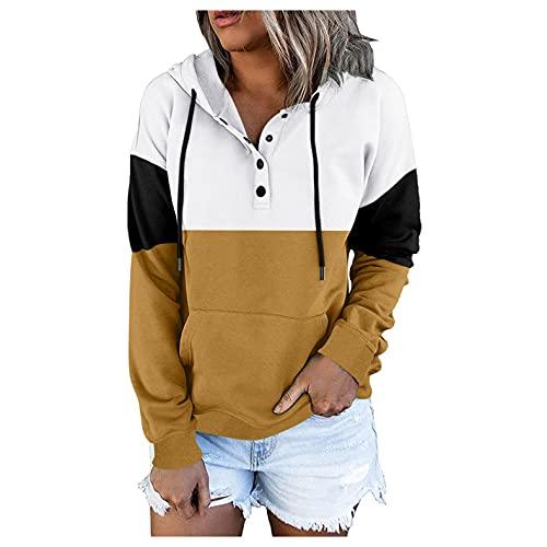 Eduavar Sweatshirts for Women Plus Size Women's Causal 1/4 Zip Pullover Long Sleeve Collar Sweatshirts Solid Activewear Running Jacket