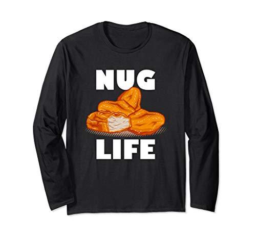 Nug Life, Chicken Nugget, Thug Langarmshirt