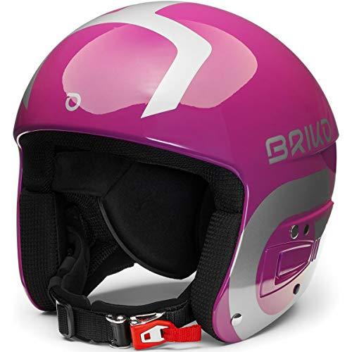 Briko Vulcano FIS 6.8 Junior Casque de Ski, Jeunesse Unisexe, Violet, X-Small