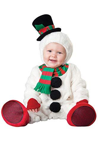 Costume de qualité pour bébé - Noël - Petit bonhomme de neige