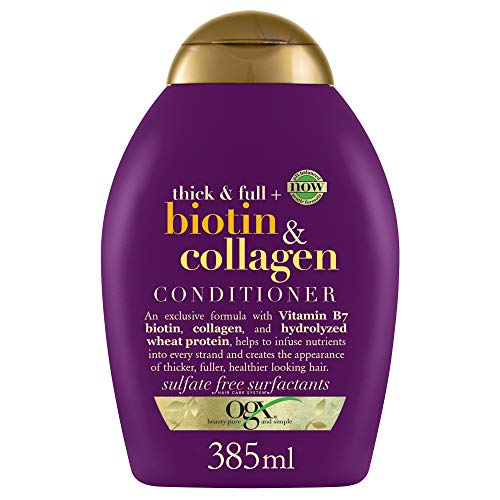 OGX Thick & Full Biotin & Collagen Conditioner, 1er Pack (1 x 385 ml)