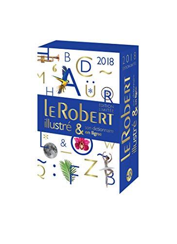 Coffret Dictionnaire Le Robert illustré 2018 & son dictionnaire en ligne