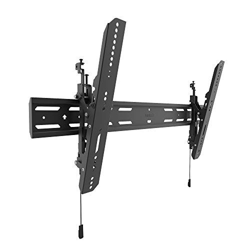 "Kanto PT400 Tilting TV Mount for 40"" to 90"" TVs   Up to 150 lb   VESA 800 x 400   12° of Tilt   Low Profile Design   Extra Wide Wall Plate"