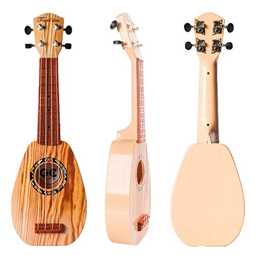 17 Inch Kids Ukulele Guitar Toy 4...