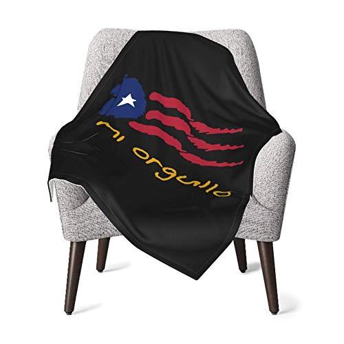AOOEDM Puerto Rican Ultra Soft Babydecken Warme Bettdecke 30 '' X40 ''