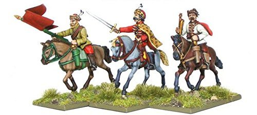Warlord Games Croat Cavalry Command by Pike & Shotte - Thirty Years War 28mm