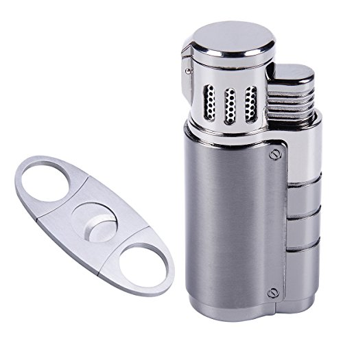 harygate cigar cutter and lighter set