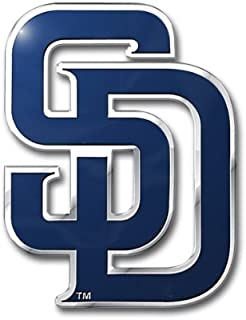 MLB San Diego Padres Die Cut Color Automobile Emblem