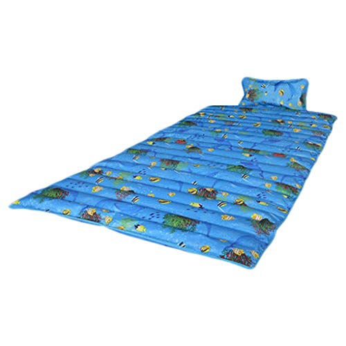 Colchón colchón de Hielo colchón de Hielo Individual Doble Dormitorio Dormitorio Estera de Verano enfriamiento de Agua Almohadilla de Agua colchón de Agua Artefacto (Color : A, Size : 190 * 75cm-5m)
