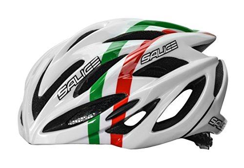 Salice Ghibli Casco Bike, Bianco Italia, XS-52-58