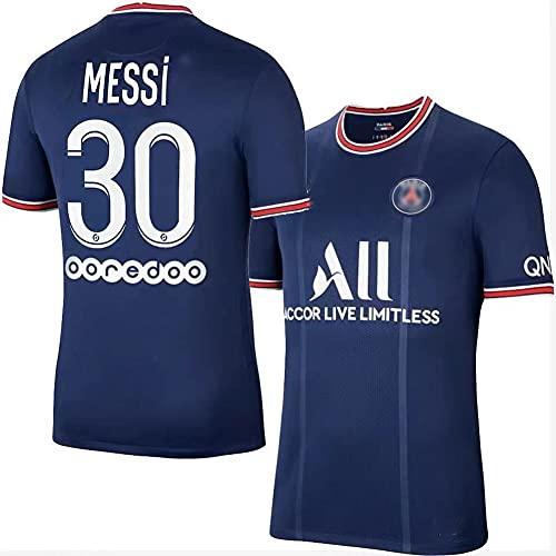 Ysimee Camiseta no. 30, Classic Soccer Camiseta de fútbol, Camiseta de Local 2021-2022Team Jersey