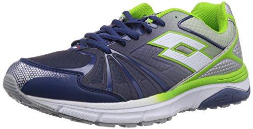 Lotto Sport MOONRUN - Zapatillas de Running de Goma Hombre, Color Multicolor, Talla 46