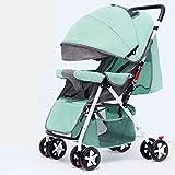 Baby-Spaziergänger for Neugeborene und Wanderer, kompakte Einzelkinderwagen, Kindersitze, Luxus Kinderwagen, Kinderwagen, Becherhalter, Fußmatten und Kinderwagen, Tabletts