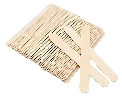 Lumanuby Lot de 100 spatules médicales universelles en bois de bouleau pour usage quotidien