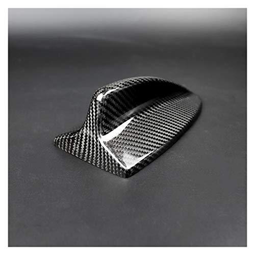Cubierta de la antena del coche de fibra de carbono Antena tiburón...