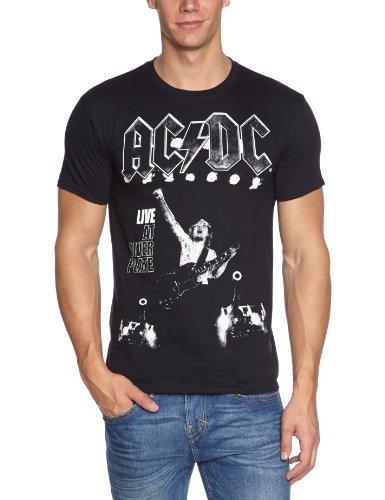 AC/DC - Camiseta con Cuello Redondo de Manga Corta para Hombre, Talla...