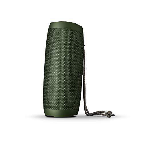 Energy Sistem Urban Box 5+ Altavoz Portátil con Bluetooth y Tecnología True Wireless (20 W, Tws, Bluetooth 5.0, Usb/Microsd Mp3 Player, Fm Radio) - Verde