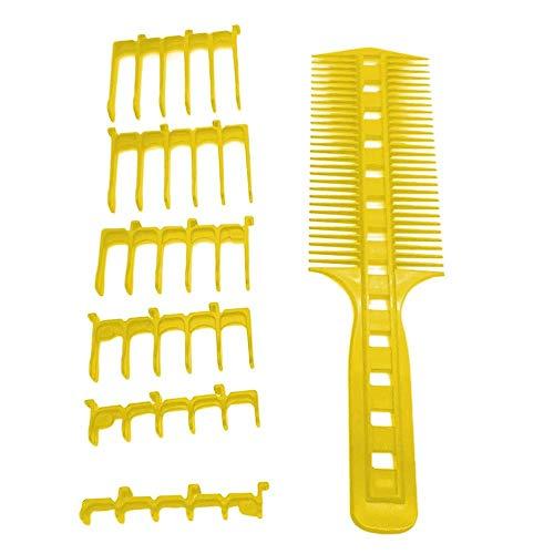 Ingeniously Scherenschneider über Kamm Haarschneidewerkzeug Barber Kit Pro Haircutting