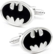 Dress Men's Superhero Batman Cufflinks Returns Cartoon Movie Cuff Links