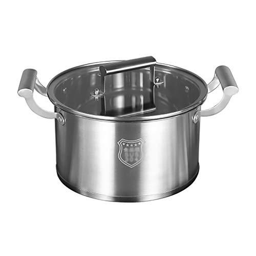 Heavy tajines met deksel, stalen pot met glazen deksel – perfect voor soepen, stoofschotels & casseroles