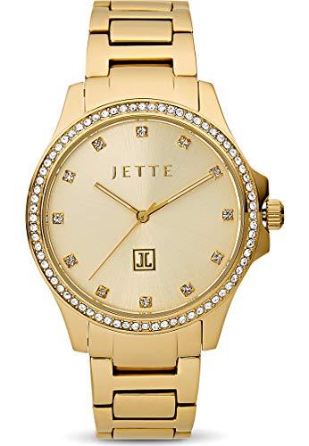 JETTE Damen-Uhren Analog Quarz One Size Gold 32012787