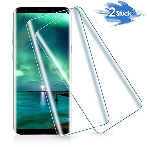 Carantee Panzerglas Schutzfolie für Samsung Galaxy S9, [2 Stück] 3D Vollständigen Abdeckung Panzerglasfolie für Samsung Galaxy S9, Anti-Kratzer Anti-Öl Anti-Bläschen Schutzglas, HD Displayschutzfolie