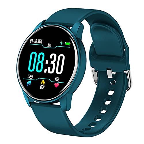 N\C Reloj Inteligente para Hombres con Pantalla táctil Completa, Reloj multifunción Deportivo, Reloj Despertador con frecuencia cardíaca, recordatorio, Reloj Inteligente para Ejercicios