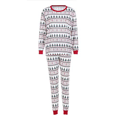 Appearancnes 851 Christmas Family Matching Outfit Father Mother Baby Clothing Sets Pyjamas