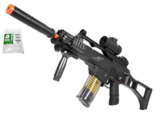 A&N Airsoft Starter Rifle Gun Semi/Fully Automatic AEG Electric Fun Toy 1000 BBS