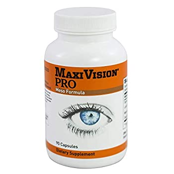 MaxiVision® PRO Meso Formula - Mesozeaxanthin - Lutein - Zeaxanthin - 90 Capsules 1 Bottle