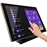 ANGEL POS 24 inches Capacitive LED Backlit Multi-Touch HDMI VGA Monitor with 16:9 Display 1080p, True Flat Seamless Design Touchscreen, Great for Office, POS, Retail, Restaurant