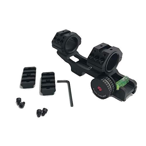 ZEITWISE Blockmontage Zielfernrohrmontage für 21 mm Weaver/Picatinny Schiene Zielfernrohr 25,4mm und 30mm