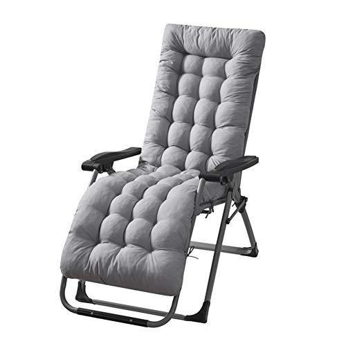 Tenwan 170 x 53 x 8 cm patio calesa salón cojines tumbona cojín silla cojín para viajes vacaciones interior al aire libre