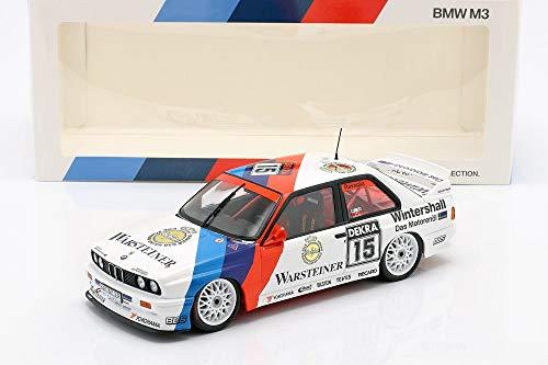 BMW M3 (E30) #15 Winner Hockenheim DTM 1992 Roberto Ravaglia 1:18 Minichamps Collector Model Car