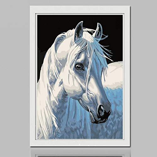 SHQBZPYS 5D DIY diamant schilderij diamant schilderij paard kruissteek borduurwerk