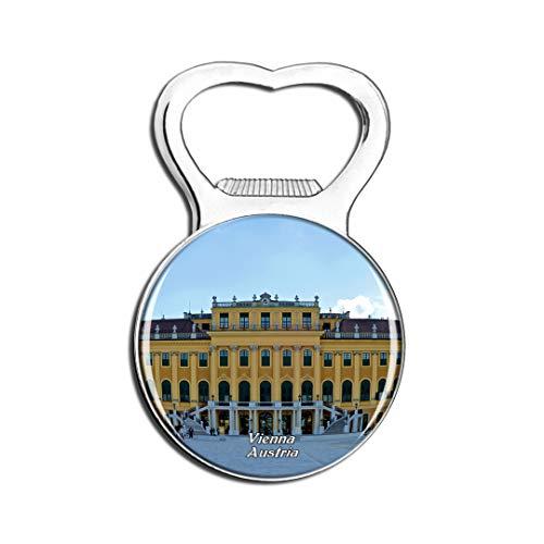 Weekino Österreich Schonbrunn Palast Wien Kühlschrankmagnet Bier Flaschenöffner Stadt Reise Souvenir Sammlung Starker Kühlschrankaufkleber