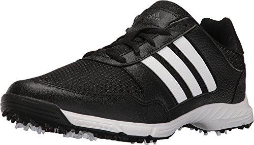 adidas Men's Tech Response Golf Shoe, Black, 7 M US