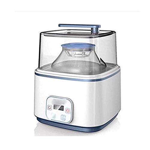 UNU_YAN Moderne Einfachheit Haushaltsjoghurtmaschine, kleine automatische Joghurtmaschine, große Multifunktions-Enzymmaschine mit großer Kapazität, Glasfutter