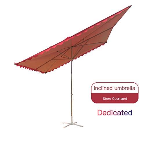 Parasol WRJ@ Sombrillas inclinadas para Balcones y Patios, protección UV 50+, inclinación y Ajustable