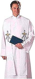 Autom Reversible Baptismal and Wedding Stole, White, One Size