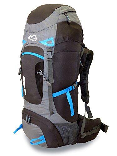 MONTIS ARACAR 55 - Sac à Dos de randonnée/Trekking 55 L - 70 x 32 cm - 1500g