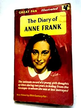 Paperback Anne Frank: The Diary of a Young Girl aka The Diary of Anne Frank (Scholastic, 50039) Book
