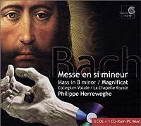 Bach : Mass in B minor, Magnificat, Cantate BWV 80 / Herreweghe (incl. bonus CD-Rom)